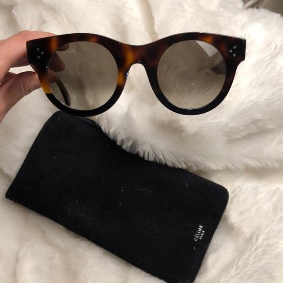 dd4ed1cde8e Celine Accessories - Celine Rounded Cat Eye Sunglasses